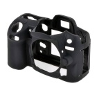 Durable Silicone Protective Case Cover Housing Cage for Nikon D7000 DSLR Cameras - Black