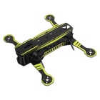 Universal Super Racing fibre de verre Frame Rack Kit pour Quadcopter R / C Toy - Noir + Jaune