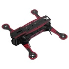Super Racing Glass Fibra Frame Rack Kit para Quadcopter R / C Toy - Vermelho