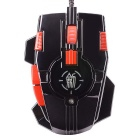 JIANSHENGYIZU JS-XINGJUE Classic 10-Key USB Wired Optical Gaming Mouse w/ Colorful LED Light