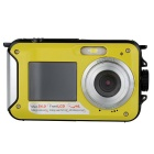 24MP Fully Waterproof Shockproof Digital Camera & Video Camera w / Dual Full-Color LCD Displays