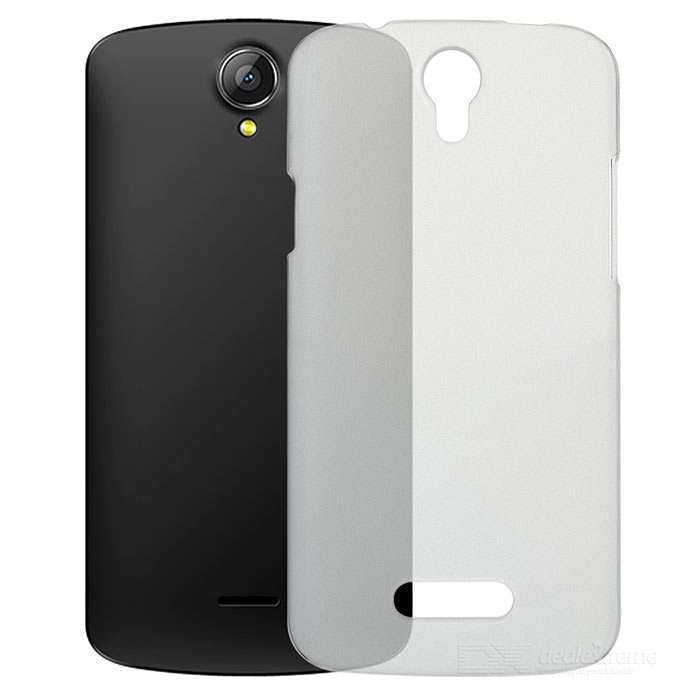 Protective PC Case for Doogee X6 - Translucent White