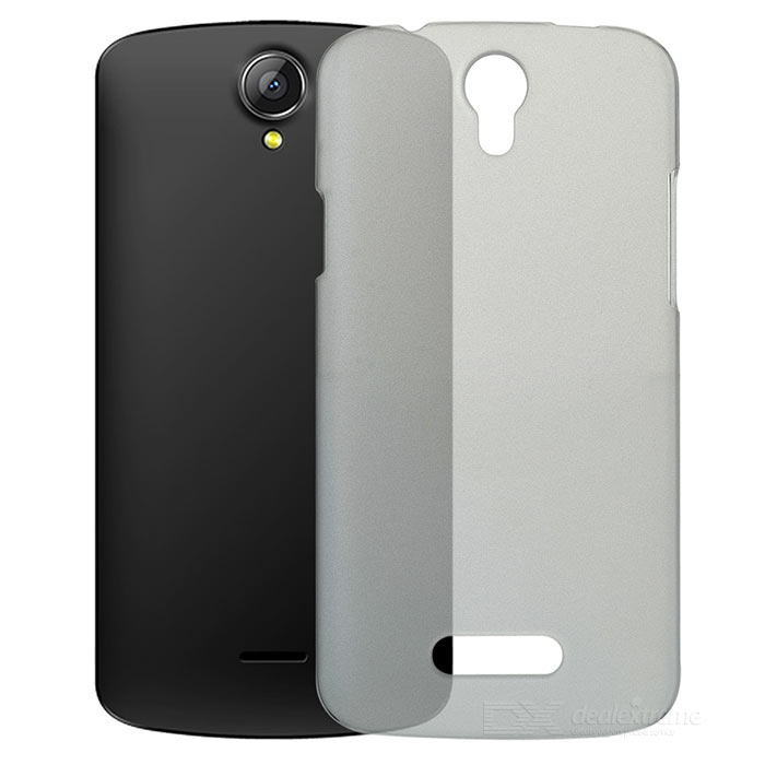 Protective PC Case for Doogee X6 - Translucent Grey