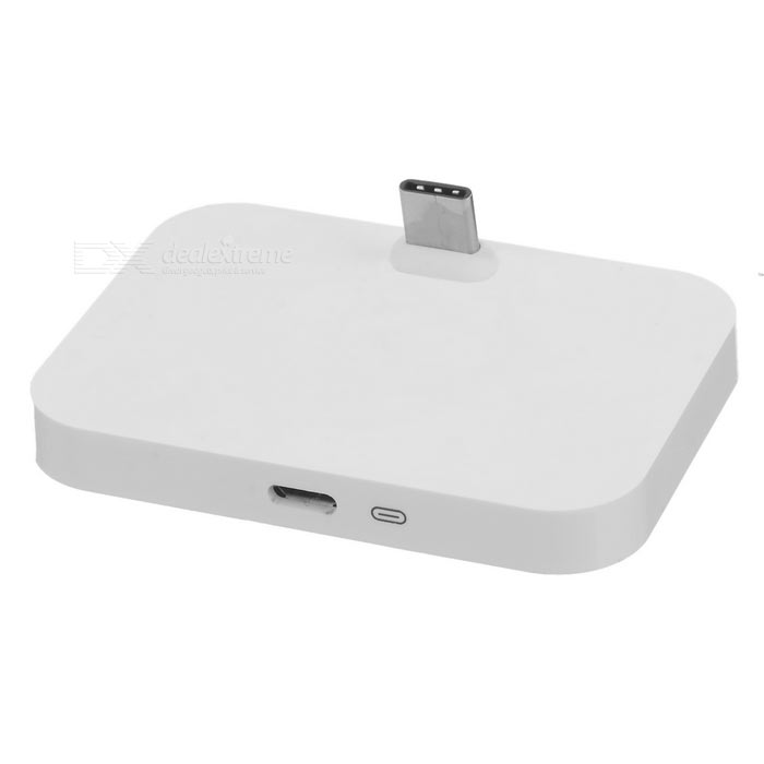 Charging Dock w/ USB 3.1 Type-C for Google Nexus / LeTV + More - White