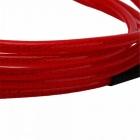 10ft 3m Guitar Cable Amp Amplifier Lead Cord - Red