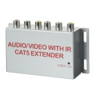 Anti-Inference Digital TV STB Audio / Video Extender Sharing Device - Silver Grey + Black (US Plug)