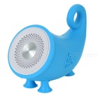 Bluetooth V3.0 Stereo Speaker w/ TF Slot - Light Blue