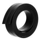 1000*25*3mm Flexible Magnetic Strip Tape Magnet for Office - Black
