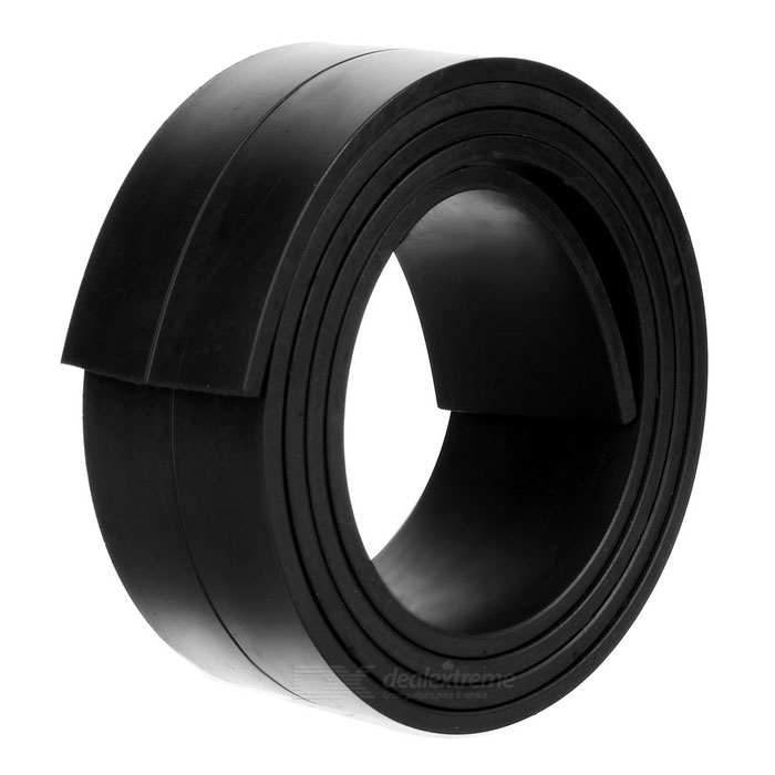 1000*33*3mm Flexible Magnetic Strip Tape Magnet for Office - Black