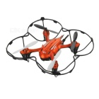 JJRC H6W 2.4G 4-CH Headless Mode 6-Axis Gyro R/C Quadcopter Wi-Fi FPV Drone w/ 1.3MP Camera - Orange