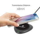 MO.MAT Qi Standard Wireless Charger for Smart Phone - Black