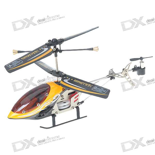 6027-1 Metal Frame Rechargeable 3.5-CH R/C Indoor Helicopter