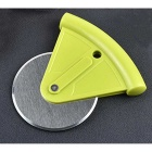Stainless Steel Blade Pizza Wheel Cutter Roller Knife Tool - Grass Green