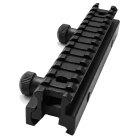 ACCU New Lengthened Gun Rail Mount for 20mm Rail Guns - Black