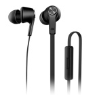 Xiaomi 3.5mm Jack Plug In-Ear Earphones Headphone Headset w/ Mic. for Xiaomi / IPHONE / IPAD - Black