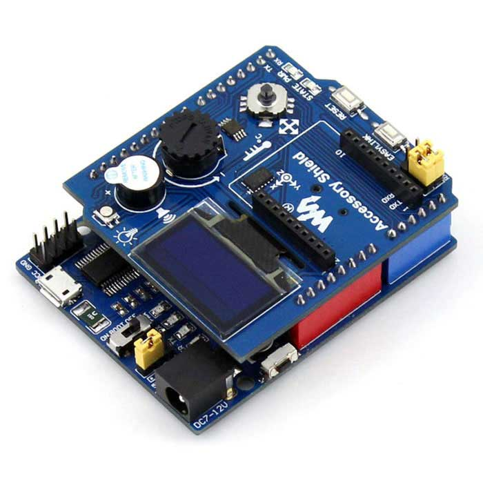 Waveshare xbee integrated multifunctional expansion board