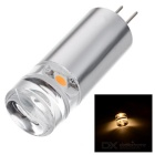 G4 2W LED Light Bulb Warm White 3500K 130lm 1-SMD LED - Silver White + Transparent (12V)