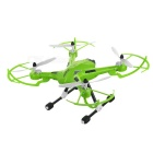 JJRC H26 2.4GHz 4-CH R/C Quadcopter Drone Toy w/ Gyro & 360' Tumble & LED Light - Green + Black