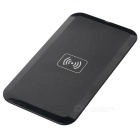 Qi Wireless Charger + Micro USB Receiver Set for Samsung S6 - Black