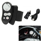 FM12 Dual HFP&A2DP Steering Wheel Hands Free Wireless Bluetooth Car Speaker Phone Kit