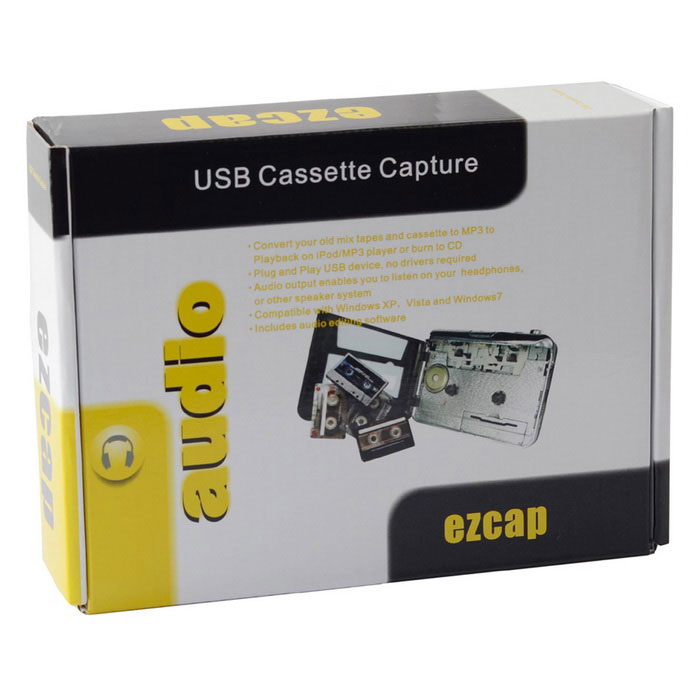 how to use usb cassette capture