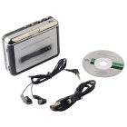 Ezcap 218 USB-Kassette in MP3-Konverter erfassen Audio-Musik-Player