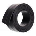 100*2.5*0.18cm Flexible Magnetic Strip Tape Magnet for Office - Black