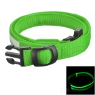Outdoor Sports Running Physical Exercise LED Waist Belt - Green + White