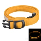 Outdoor Sports Running Physical Exercise LED Waist Belt - Yellow + White