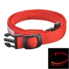 Outdoor Sports Running Physical Exercise LED Waist Belt - Red + White