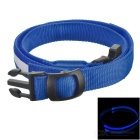 Outdoor Sports Running Physical Exercise LED Waist Belt - Blue + White
