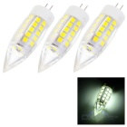 G4 5W LED Bulb Lamp Cool White Light 400lm 44-SMD Bullet Shape (3PCS)