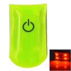 Multifunction Outdoor Sports 4-LED Waterproof Reflector