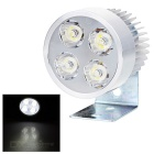 5W Cold White Light 4-LED 500lm 2-Mode Spotlight for Motorcycle, Bike