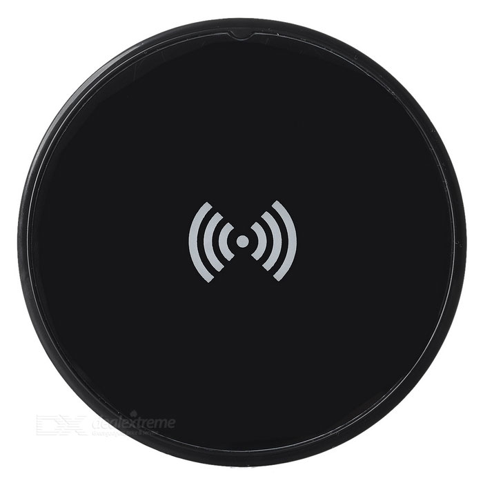 Qi Wireless Charging Pad for Samsung, Xiaomi, IPHONE + More - Black