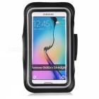 Outdoor Sports Cycling Jogging Water-Resistant Armband Pouch Case Arm Bag for IPHONE 6 / 6S - Black