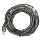 USB A / B Printer Connecting Cable - Black Grey (10m)