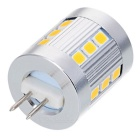 G4 2.5W 180lm 21-SMD 2835 LED 3500K Warm White Light - Silver (12V)