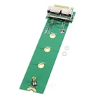 M.2 NGFF M-Key SSD Adapter Card for APPLE MACBOOK A1466, A1465 - Green
