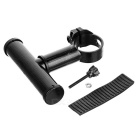 CTSmart Outdoor T-Typpe Bike Holder for Light / Flashlight - Black