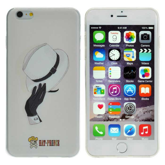 Hat-Prince Back Case for IPHONE 6 PLUS / 6S PLUS - Off-White + Black