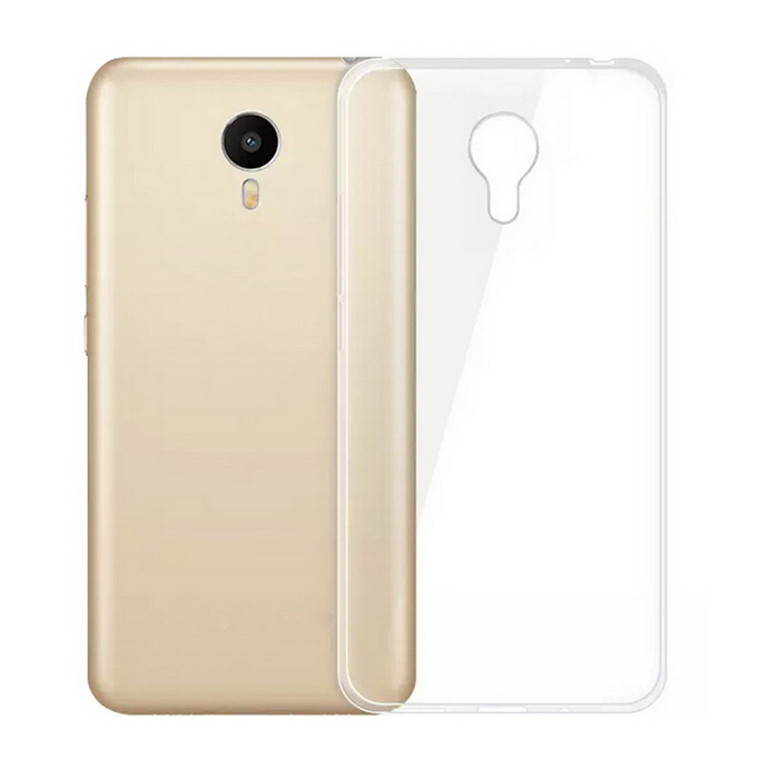 ASLING TPU Soft Back Case for MEIZU MEILAN Metal - Transparent