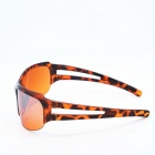 OSSAT UV Protection PC Lenses Sports Sunglasses - Agate Red + Orange