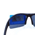OSSAT UV Protection PC Lenses Sports Sunglasses - Silver + Carbon