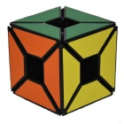 Six-Color Black Profiled Edge Hollow Irregular Cube Toy - Multicolored
