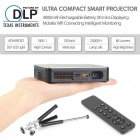HDP200 DLP Smart Home Theater Projector w/ Wi-Fi, HDMI - Black (US)