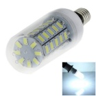 E14 5W 48-SMD LED 1200lm White Light Energy Saving Corn Lamp (AC 220~240V)