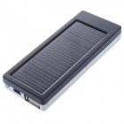 Solar Powered 2000mAh Rechargeable Portable Emergency Power w/ Phone Adapters+LED Light