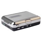 Ezcap EZCAP218-2 USB Cassette to MP3 Converter Capture Music Player