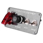 IZTOSS Racing Car Combination One Button Start LED Ignition Switch Panel for XH-3018 (12V)